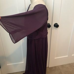 David's Bridal Dresses - David's Bridal Plum Bridesmaid Dress - sz 18